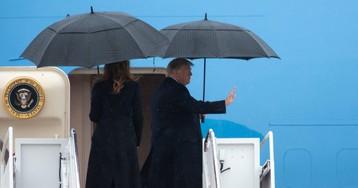 Donald Trump Berates Democrat Impeachment Effort as He Leaves for NATO Summit