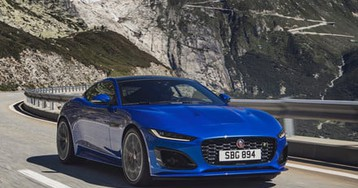 2021 Jaguar F-Type sports car gets a new face and more tech