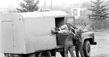 Доставка в медвытрезвитель, 1970–е годы, СССР