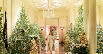 La Navidad más patriótica llega a la Casa Blanca