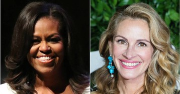 Michelle Obama y Julia Roberts se unen para empoderar a las niñas