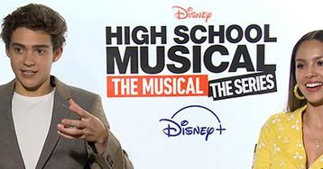 Joshua Bassett and Olivia Rodrigo Talk 'High School Musical: The Musical: The Series' and Queen