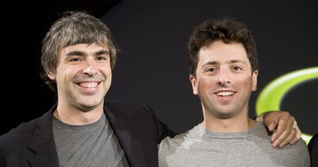 Google founders Larry Page and Sergey Brin are stepping down