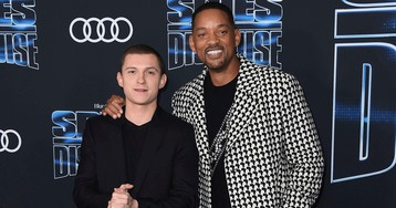 Tom Holland on Spider-Man, James Bond and Meeting 'Spies in Disguise' Co-Star Will Smith in an Escape Room