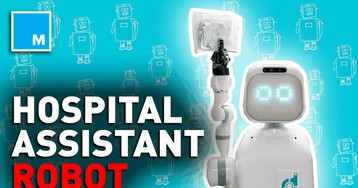 This robot helps assist hospital staffs — Strictly Robots