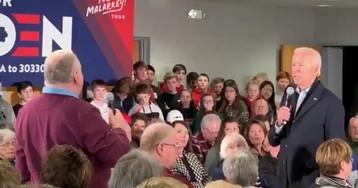 Joe Biden snaps on Iowa voter who brings up Hunter and Burisma: 'You're a damn liar, man'
