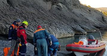 В Крыму под горой нашли мертвого туриста