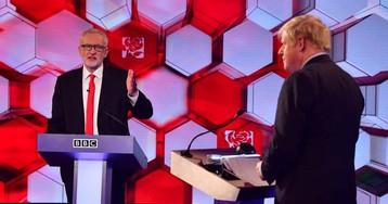 Johnson y Corbyn chocan por el Brexit en su segundo cara a cara