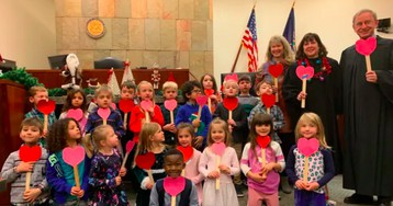 5-Year-Old Michigan Child's Kindergarten Classmates Supports Him as He Gets Adopted