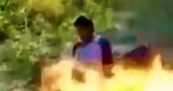 GRAPHIC: Gulf Cartel Gunmen Burn Rivals Alive in Mexico near Texas Border