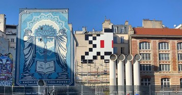 Streets: Invader (Paris)