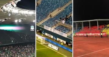 Бунт против полиции. Футбольные фанаты массово уходят со стадионов