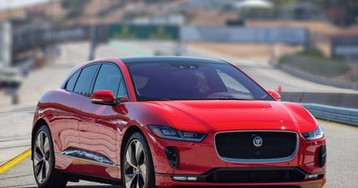 A racing-inspired software update could boost the Jaguar I-Pace's range