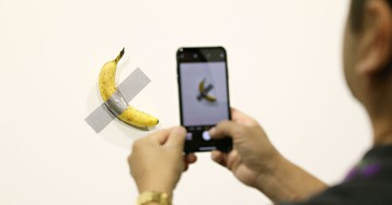Of Course Someone Ate the $120,000 Duct Tape Banana