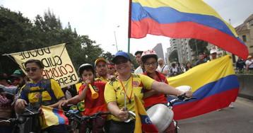 La ejemplar Colombia protesta en adviento