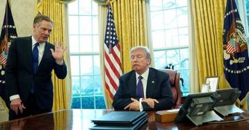 EE UU y China negocian aplazar la entrada en vigor de los nuevos aranceles prevista el domingo