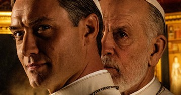 The Official 'The New Pope' Trailer Absolutely Slaps
