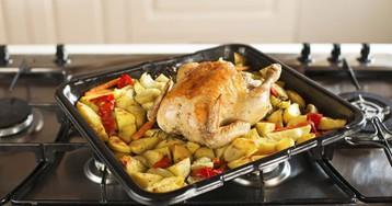 10 классных способов приготовить курицу с картошкой в духовке