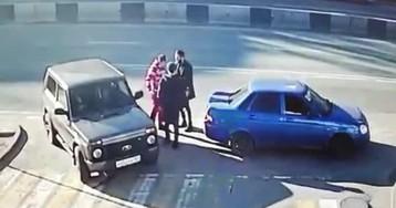 """""""Ростовский Тайсон"""" отправил в нокдаун двух южан в дорожном конфликте"""