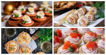 5 оригинальных порционных закусок для праздничного стола