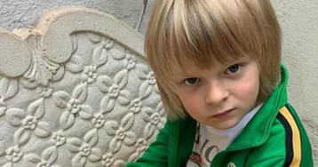 Полиция разыскивает людей, пишущих сыну Рудковской и Плющенко