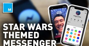Facebook gives Messenger app new 'Star Wars' theme