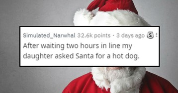 Weird Things Kids Asked Mall Santas for Christmas