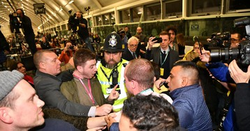 Fight breaks out between rival parties at John McDonnell count