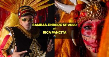 Rica Pancita julga os sambas-enredo do Carnaval de SP 2020
