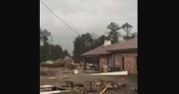 Tornadoes reported in Louisiana, damaging homes, church, at least 1 dead