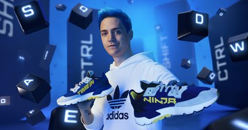 Take a Look at Ninja's First adidas Sneaker, Dropping This Month