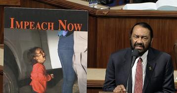 Democrat Al Green Uses Fake News Photo of Migrant Child in Impeachment Debate