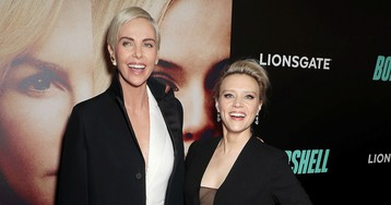 Charlize Theron and Kate McKinnon Premiere 'Bombshell' in NYC