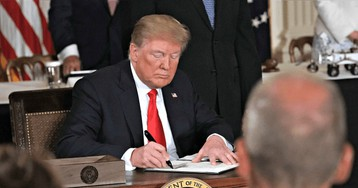President Trump Signs Defense Bill Creating Space Force -- First New Military Branch Since 1947