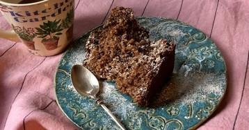 Старомодный кекс с изюмом