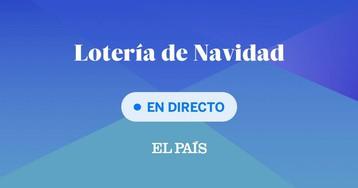 Premios Lotería de Navidad 2019, en directo: 26590 el Gordo de Navidad; 10989 segundo y 00750 tercero