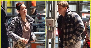 Halsey & Boyfriend Evan Peters Travel Together Before Christmas in NYC