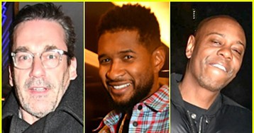 Jon Hamm, Usher, Dave Chappelle & More Stars Celebrate at 'SNL' After-Party in NYC