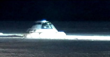 Boeing Starliner lands safely on the ground after rocky launch