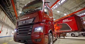 Фотопост: КАМАЗ нового поколения с автопилотом и мультиваркой