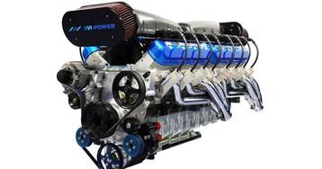 Sixteen Power's 2,200-hp V16 marine engine ready for automotive use