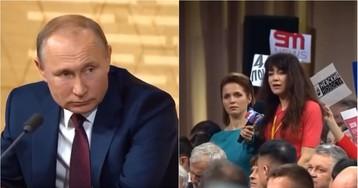 Журналистку уволили с работы после вопроса к Путину о губернаторе Ямала