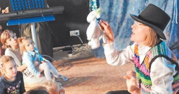 Рождество с муми-троллями. Дети из Внукова поучаствовали в спектакле