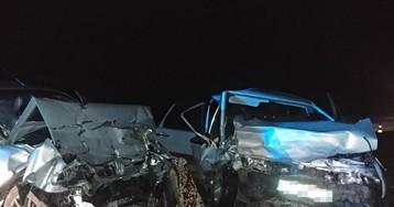 В Запорожской области лоб в лоб столкнулись два авто
