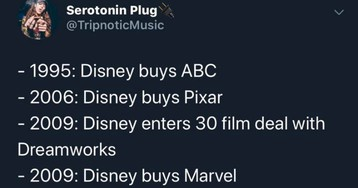 Twitter User Traces Disney's History And Imagines Their Future
