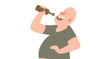 Анекдот про алкашей ибутылку снеизвестной жидкостью