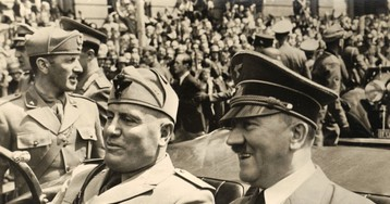 Муссолини неуважал Гитлера