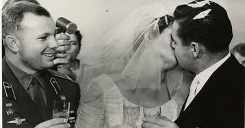 Свадьба Валентины Терешковой и Андрияна Николаева, 3 ноября 1963–го года, Москва, СССР