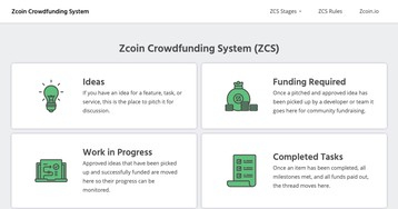 Команда Zcoin запустила новую платформу для привлечения финансирования