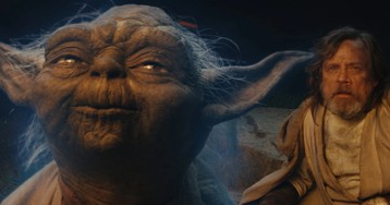 Luke and Yoda Have a Dispute About a Party and a Stick in this Bad Lip Reading of The Last Jedi